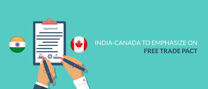India-Canada To Emphasize On Free Trade Pact
