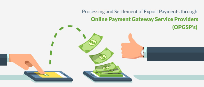 Processing and Settlement of Export Payments through Online
